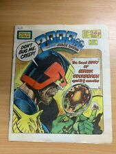 2000AD PROG 458 (22 FEB 1986) UK LARGE PAPER COMIC - JUDGE DREDD
