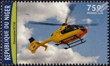 EUROCOPTER EC135 Air Ambulance Helicopter Aircraft Stamp (2016 Niger)