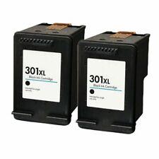 2x HP301XL PRINTER INK CARTRIDGE black for HP 301 XL