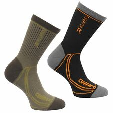 Regatta 2 Season Coolmax Mens Trek and Trail Socks