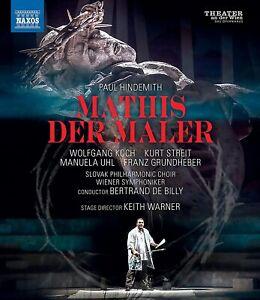 Hindemith Mathis der Maler (Koch/Vienna Symphony/De Billy) New 2021 BluRay!