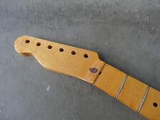 Aged Relic finitura NITRO in acero Chitarra Collo per Telecaster Fender Tele Lefty B