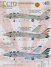 FCM 1/72 Grumman F-14A Tomcat 'Sundowners' # 72040