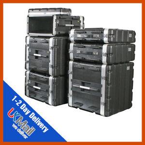 ABS Rack Case   2-10u   Flight Case   Equipment Case   DJ Case   Amp Case   PA