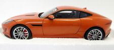 Autoart 1/18 Scale Diecast - 73653 Jaguar F-Type 2015 R Coupe Firesand Orange