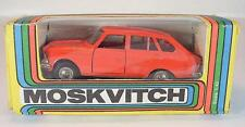 URSS USSR 1/43 Moskvitch IZ 1500 rouge clair neuf dans sa boîte #257