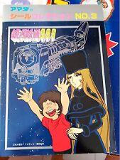 captain harlock albator MATSUMOTO  galaxy densetsu 999 amada album stickers 1977