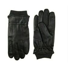DOCKERS MEN'S INTELITOUCH KNIT CUFF LEATHER GLOVES MEDIUM (GLD6)
