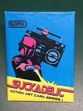 Suckadelic Series 1 Suckpax Trading Cards Sucklord Wax Pack Star Wars Street Art