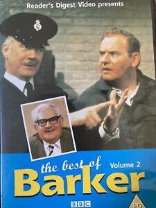 Best of Barker Volume 2 DVD UK2 Fondly recalled UK comedy - Ronny Barker Reg2
