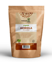 Organic Raw Acerola Powder - Vitamin C | Cherry | Health & Beauty | Supplement