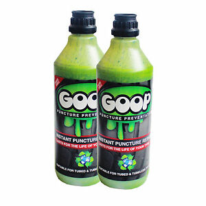 Goop Tyre Sealant / Puncture Preventative / Tyre Sealant / 2 Litres / Made in UK