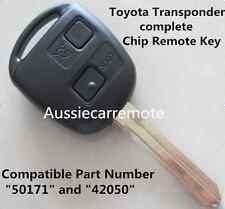 Toyota Transponder Chip Remote Key for Prado Avensis Tarago 120 RAV4 Kluger