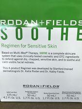 Rodan and Fields SOOTHE Regimen for Sensitive Skin -  4 Piece Set NEW IN BOX