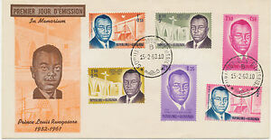 BURUNDI 1963, Prince Louis Rwagasore (1932-1961) cpl. on superb FDC, R!