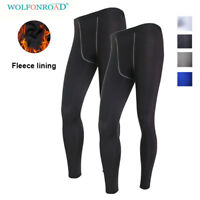 Moisture Wicking Men Cold Gear Leggings Under Base Layer Tight Compression Pants