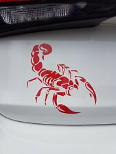 Scorpion Vinyl Car Wall Decal Sticker in 12 Colours