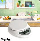 5kg 5000g X 1g Digital LCD Kitchen Scale Diet Food Compact Weight Balance SUST5
