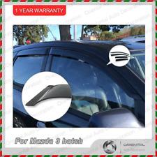 Premium Weathershields Weather Shields Window Visor for Mazda 3 hatch 5D 04-09 T