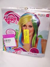 My Little Pony Rainbow Dash Costume Wig Adult Age 14+ Dress-up Cos-play New