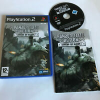 Panzer Elite Action - Fields Of Glory / Boxed & Inst / Playstation 2 PS2 / PAL