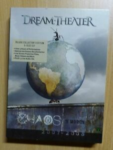 Dream Theater - Chaos in Motion (Deluxe Collector's Edition) (2 DVD / 3 CD)