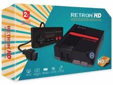 Retron HD Negro ✔ ✔ hardware real Nes ✔ PAL/NTSC ✔ Nes Mini ✔