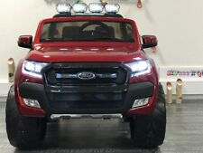 4X4 électrique enfant Ford Ranger Rouge métallisé - 4 roues motrices - 12V