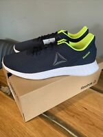 Reebok Lite Men's Running Trainers Size:10 Running Shoes  Navy / White / Green