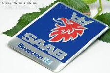 D390 Saab Auto 3D Emblem emblème Badge Aufkleber PKW KFZ emblema Car Sticker