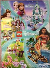 Lego Moana's Ocean Voyage POSTER ONLY also featuring Belle frozen whisker haven