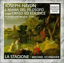 Haydn:  Orfeo Ed Euridice L'Anima Del Filosofo