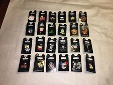 Disney Parks Trading Pin lot of 25 Rack Pins New on cards  - AUTHENTIC