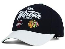 New Licensed Reebok Chicago Blackhawks Winter Classic 2015 Adjustable Hat SA