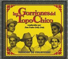Los Gorriones Del Topo Chico CD NEW Tesoros BOX SET Con 3 CD's 30 Canciones !