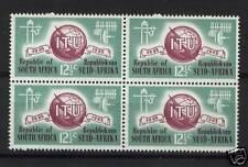 South Africa 1965 SG#259 ITU MNH Block