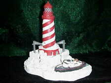WHITE SHOAL LIGHT 704 HARBOUR LIGHTS CHRISTMAS LIGHTHOUSE LIMITTED EDITION 1997