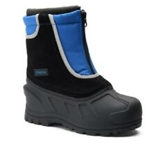 New ITASCA Snow Stomper Kids Boys Youth Winter Boots Size 6 Royal Blue and Black