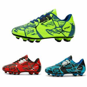 Herren Fußballschuhe Kinder Outdoor Nockenschuhe Kickschuhe Fussball Schuhe DE