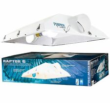"NEW! Hydrofarm Raptor 6"" Air Cooled Grow Light Fixture Reflector Hood | RP6AC"