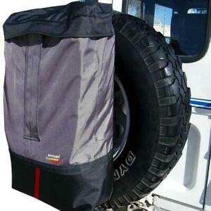 Rear Spare Wheel Bin & Accessory Bag 4WD