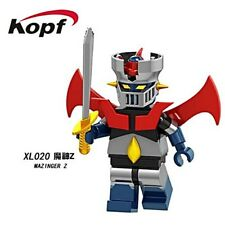 Mazinger Z Japan anime super hero Blocks Mini figure Collectible Toy child