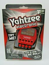 Yahtzee Electronic Handheld Digital Game New In Box NIB Sealed Great Gift!