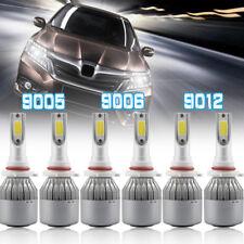 3 Pairs of Combo 9012 9005 9006 LED Headlight Fog Light for Ram 1500 2500 3500