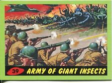 Mars Attacks Heritage Green Parallel Base Card #39    Army of Giant Insects