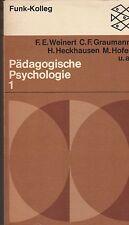 Pädagogische Psychologie 1, F. E. Weinert u. a., Fischer Verlag, Funk-Kolleg, 19