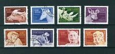 Guinea-Bissau 1989 Animals set of stamps. Used. Sg 1174 - 1181.