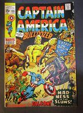 Marvel Comics Captain America # 133 / BULLDOZER 1970 Vintage Old Comic Book
