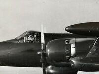 Vintage Military NAVY Jet BW 8x10 USA Photo Aerial Coastline USAF Pilot Estate