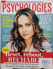 Psychologies Magazine UK September 2017 Brie Larson Reset RebootFREE SHIPPING CB